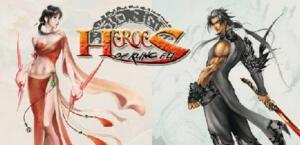Heroes of Kung Fu logo