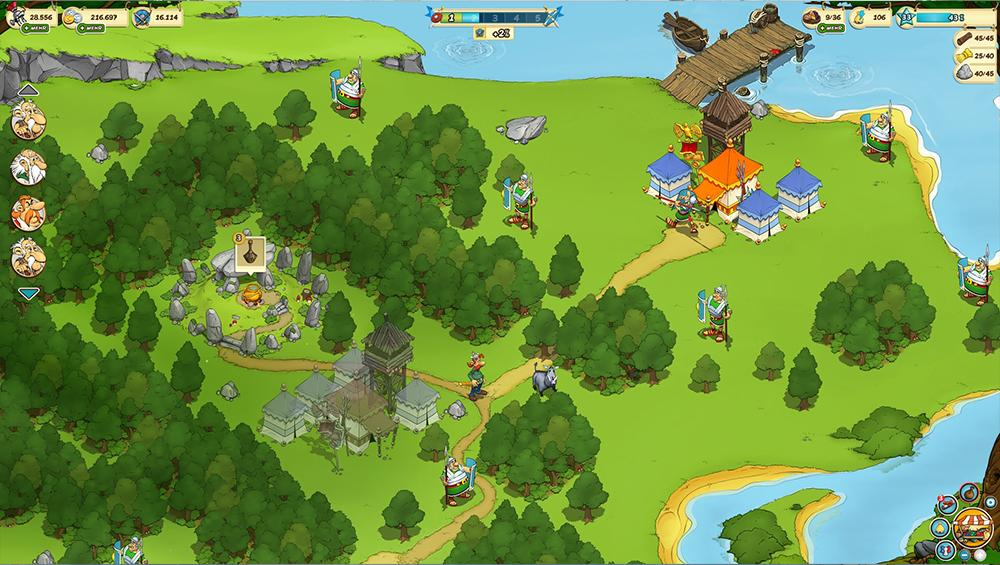 Asterix and Friends MMORPG