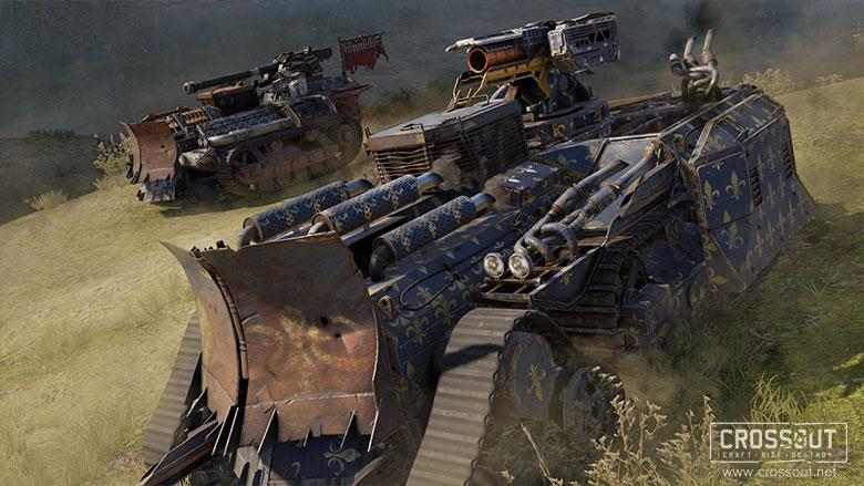 Crossout MMORPG