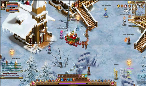 Free Browser MMORPG Online Games