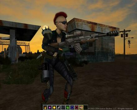 Fallen Earth MMORPG