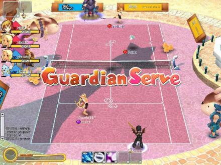 Fantasy Tennis MMORPG