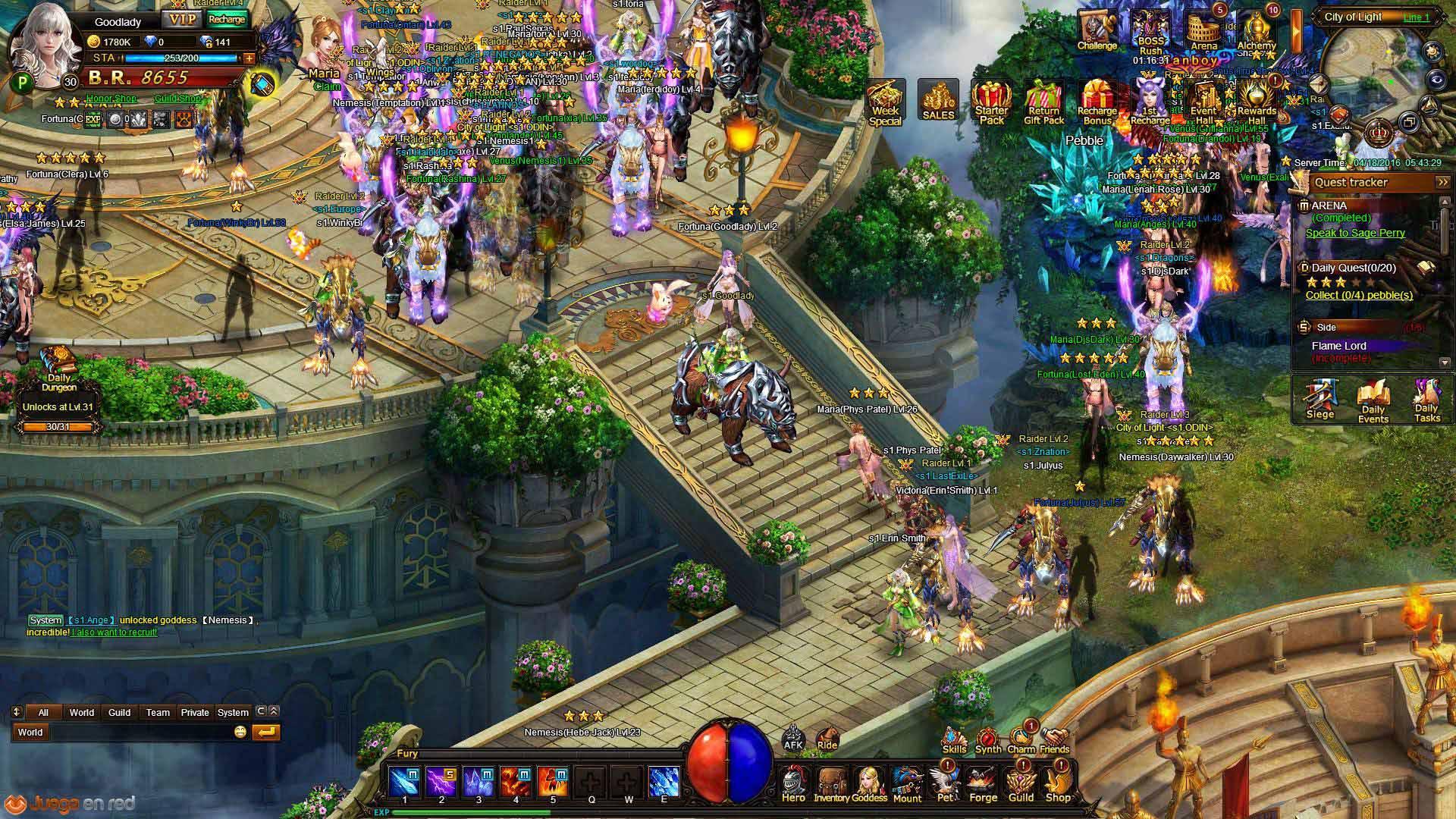 ThunderCall MMORPG