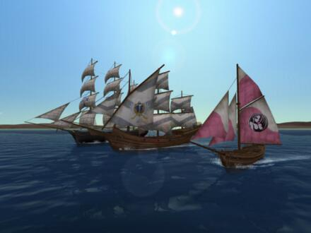 Uncharted Waters Online MMORPG