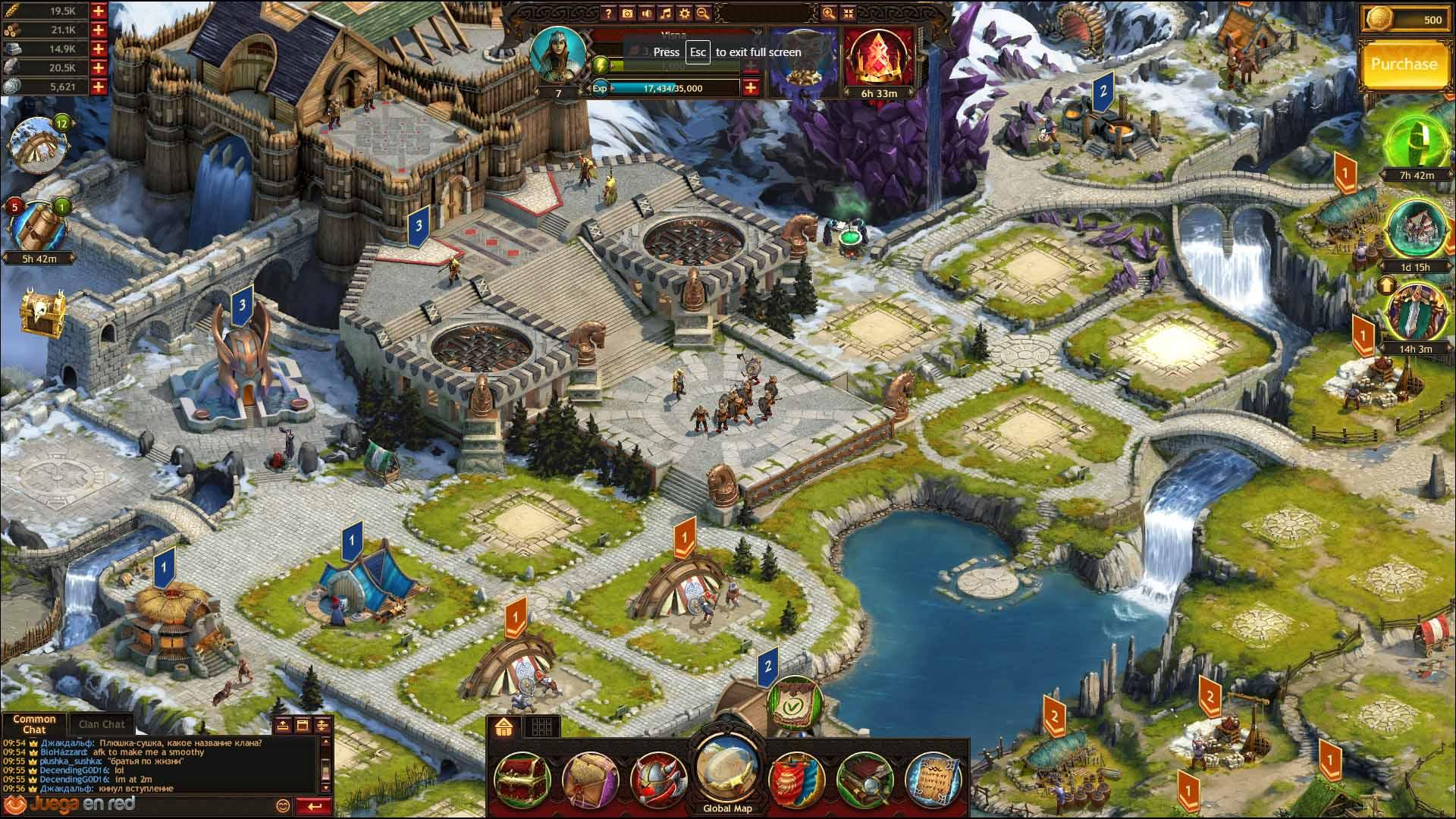 Vikings War of Clans MMORPG
