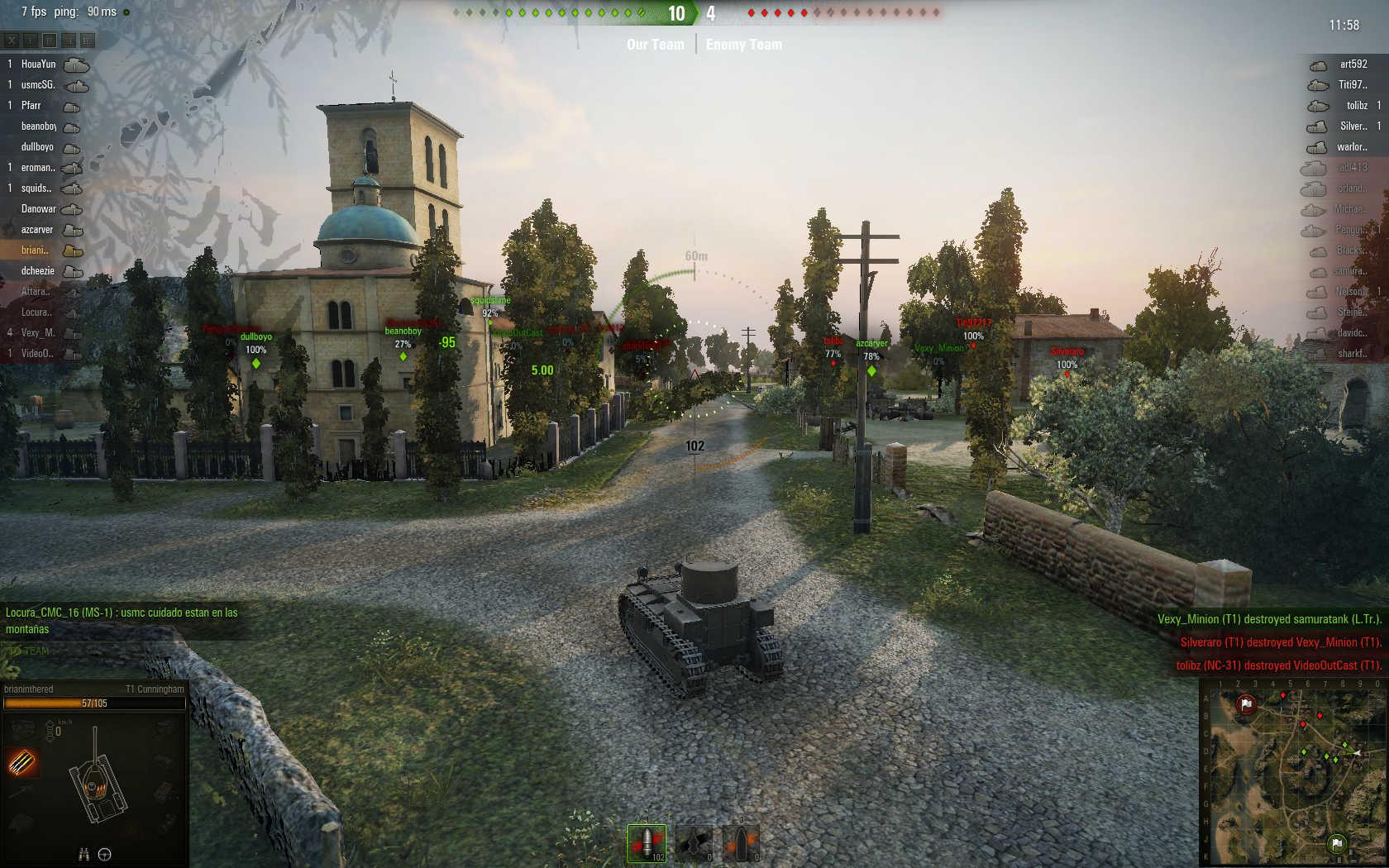 World of Tanks MMORPG